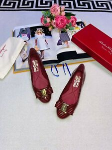 salvatore ferragamo womens shoes new with box 100% authentic