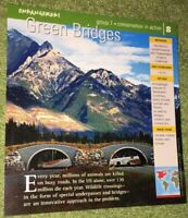 Endangered Species Animal Card-Conservation In Action-Green Bridges #8