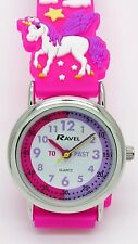 Unicorn Watch Pink Kids Girls By Ravel R1513. 79