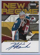 2001-02 Stadium Club Hockey David Aebischer New Regime Autograph Card # NRA-DA