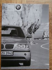 BMW 316i-330i,318d,320d,330d +xi-Modelle,330i Security E46 9/2004 Preisliste