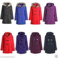Zip Wool Outdoor Plus Size Coats & Jackets for Women