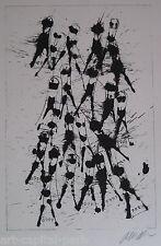 ARMAN FERNANDEZ LITHOGRAPHIE VIOLON 1979 SIGNÉE AU CRAYON HANDSIGNED LITHOGRAPH