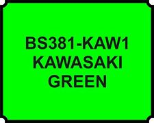 KAWASAKI GREEN HEAT RESISTANT PAINT BRAKE CALIPER ENGINE Proof bike motorbike