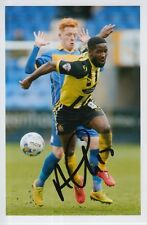 DAGENHAM & REDBRIDGE HAND SIGNED ABU OGOGO 6X4 PHOTO.
