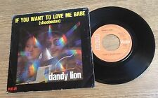SP Laurent Voulzy Ann Calvert = duo DANDY LION If you want to love me babe 1976