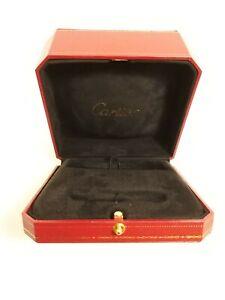 Authentic Cartier Bangle Jewelry Presentation Box Case