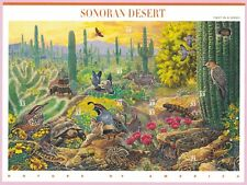 1999, $.33, Nature Of America Sonoran Desert, Sheet of 10, Scott# 3293 a-j, MNH