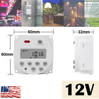 12V Timer Switch Digital LCD Relay Switch Weekly Programmable Electronic Timer photo