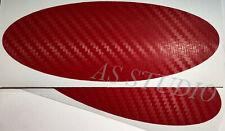 2x 115x45mm Emblem Pflaume Folie Red Stier 100x38mm