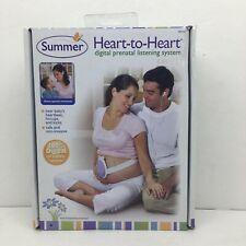 Summer Heart-to-Heart Digital Prenatal Listening System Baby Monitoring System