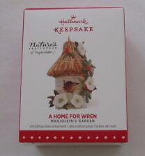 New listing Hallmark 2015 Majolein's Garden Bastin Bird House #2 Series Home Wren Ornament
