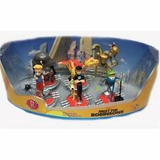 Disney Meet The Robinsons Movie Figure Set Lewis Bowler Hat Guy Wilbur Carl New