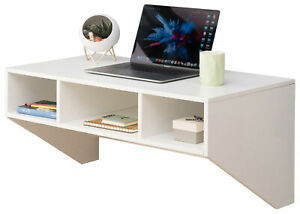 New Basicwise Wall Mounted Home Office Furniture Set
