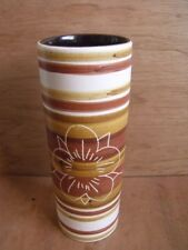 Cinque Ports Pottery The Monastery Rye Cylindrical Spill Bud Vase Free UK Post
