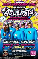 THE AQUABATS 2015 SALT LAKE CITY CONCERT TOUR POSTER - Group Dressed In Outfits