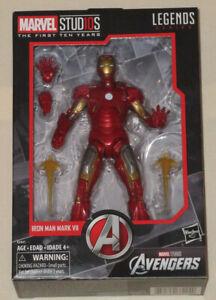 Marvel Studio Legends Series MCU Iron Man Mark VII First Ten 10 Years Figure NEW