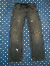 Destroyed Distressed MISSION BAY 29x33 RIPPED Holy Faded JEANS