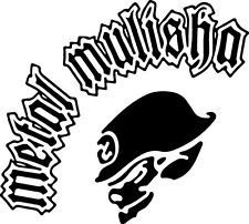 Sticker Metal Mulisha 109 - 64x57 cm