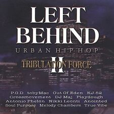 Left Behind 2 Tribulation Force URBAN HIP HOP Gospel CD 2002 Butterfly Rare