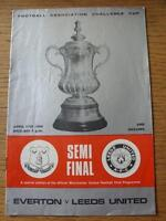 27/04/1968 FA Cup Semi-Final: Everton v Leeds United [At Manchester United] (Sli