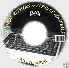 NOTEBOOK/LAPTOP/NETBOOK REPAIR/SERVICE/TECH GUIDES/MANUALS DVD NEW