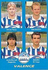 N°427 FRECHET # DI FRAYA # ASOA VALENCE VIGNETTE PANINI FOOTBALL 96 STICKER 1996