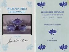 Phoenix Bird China - History Makers Marks Patterns / Illustrated Book + Values