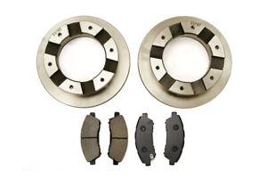 Rear Brake Discs & Brake Pads For Mitsubishi FUSO P10 3.5T 3C13/3C15 (2010>On)