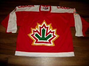 1977 WORLD CHAMPIONSHIPS TEAM CANADA HOCKEY JERSEY NEW W/O TAGS NIKE SIZE XXL 56