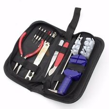 21 PCS Watch Repair Tool Kit Case Opener Spring Bar Tool Hand Remover w/ Case