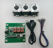 DIY 3-Axis CNC Machine Parts:Laser engraver/Grbl control board+3pc Stepper Motor