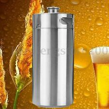 3.6L Stainless Steel Mini Keg Growler for Beer or Wine - Home Brew Beer Growler