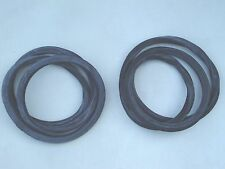 49 50 51 FORD 2 DOOR BUSINESS COUPE QUARTER  WINDOW RUBBER SEALS  STATIONARY NEW