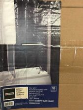 New Homebase Aqualux 850mm x 1500mm Over Bath Front Shower Screen