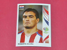 120 ROBERTO ACUÑA PARAGUAY PANINI FOOTBALL GERMANY 2006 WM FIFA WORLD CUP
