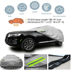 Universal For SUV/JEEP Car Cover Outdoor Waterproof UV Rain weather Protection
