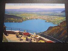 CPA Annecy et le lac vu de la terrasse du téléphérique  Du veyrier