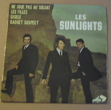 "LES SUNLIGHTS - GADGET SUSPECT - FR DISC AZ 7"" Killer French Mod - HEAR"