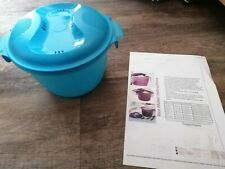 Tupperware Microwave Rice Cooker 2.2L in excellent condition