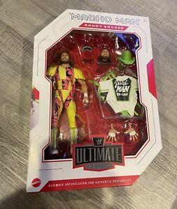WWE Elite Ultimate Edition Macho Man Randy Savage Action Figure Mattel