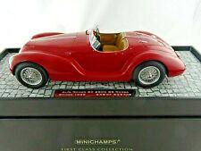 1:18 MINICHAMPS Alfa Romeo 6C Ss Corsa Spider 1939 Red Limited 107120230