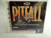 Pitfall: The Mayan Adventure (PC, 1996) jewel case Windows