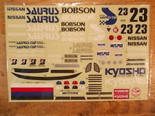 OR-32 Decal - Kyosho Nissan Saurus / Ultima 2WD Scale Car series