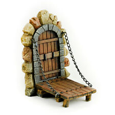 Miniature Dollhouse Fairy Garden - Draw Bridge - Accessories