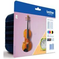 Genuine Brother  LC127XL & LC125XL 4 Ink Cartridge Pack (BK/C/M/Y) Guitar