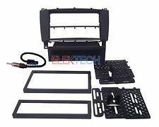 Radio Stereo Dash Mount Kit & Antenna Install Single/Double for Mercedes C Class