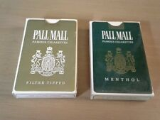 Set of Two Decks of Pall Mall Cigarettes Bridge Playing Cards