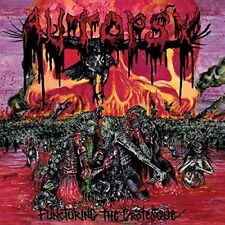 AUTOPSY - PUNCTURING THE GROTEQUE   VINYL LP NEW!