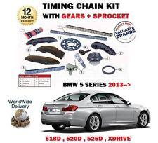 POUR BMW SÉRIE 5 518D 520D 525D XDRIVE 13-> CHAÎNE DE DISTRIBUTION